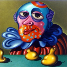 Clown with Fictitious Fruit